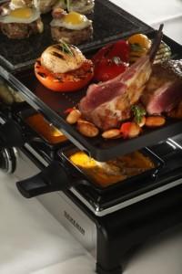 Comber jagnięcy aromatyzowany rozmarynem podany z ragout pomidorowo-fasolowym