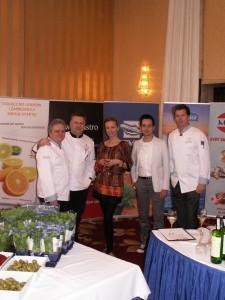 Sowa na IV Festiwalu Kuchni Greckiej