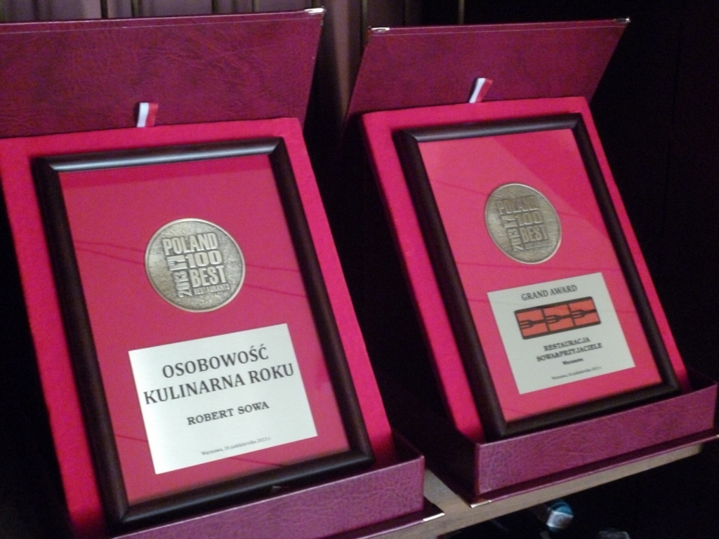 Tytuł TOP CHEF dla Roberta Sowy i 3 widelce dla Restauracji Sowa & Przyjaciele