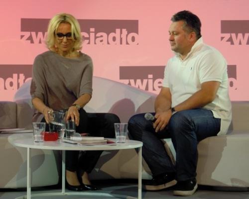 Agata Młynarska, dziennikarka telewizyjna