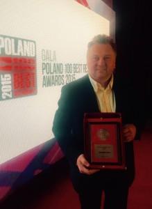 Wyróżnienie Poland 100 Best Restaurants