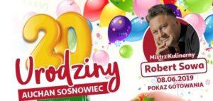 Urodziny Auchan Sosnowiec