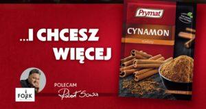Świąteczna kampania prasowa marki Prymat z ambasadorem Robertem Sową
