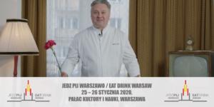 """Robert ambasadorem Festiwalu """"Jedz Pij Warszawo"""""""
