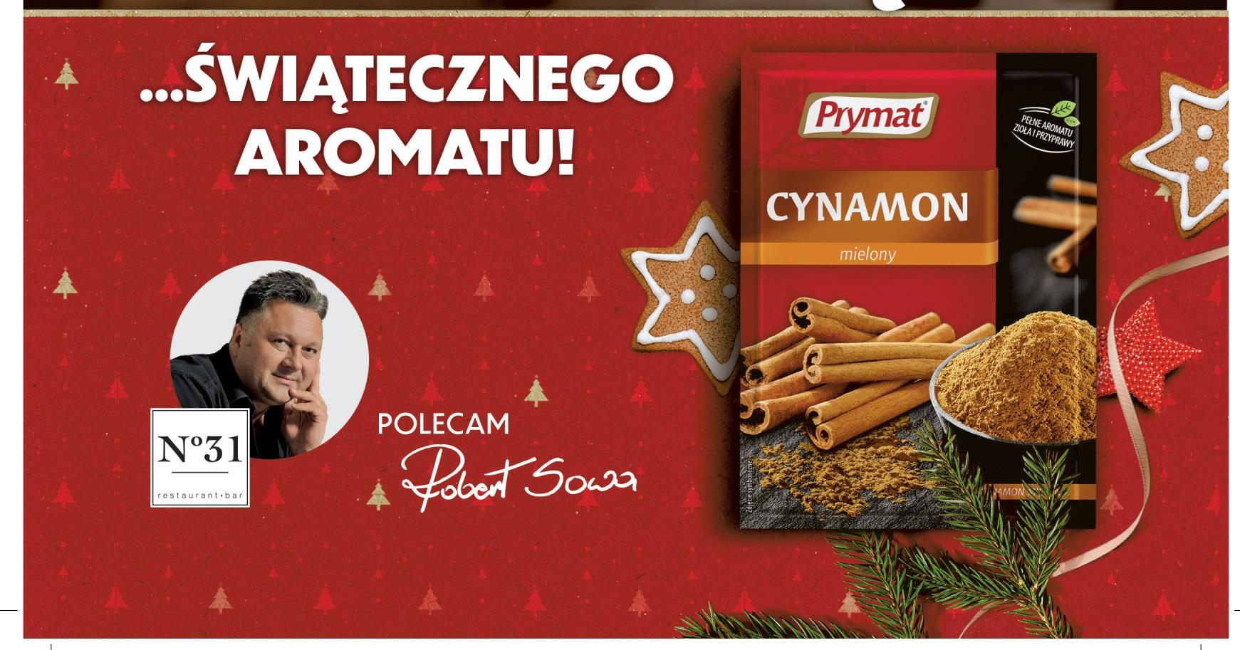 Świąteczna kampania prasowa marki Prymat z ambasadorem Robertem Sową!